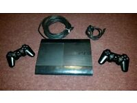 Sony playstation3 500 Gb Super Slim + 2 controllers