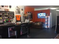 Vape Shop for Sale Wirral (Due to Family Illness)