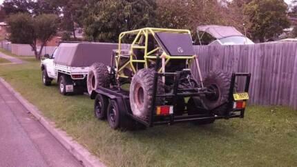 Suzuki tube frame buggy rock crawler social wheeler