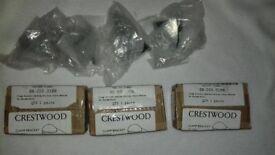 Crestwood shelf brackets 5 pairs