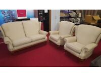 lovely 3 piece fabric suite