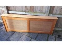 RADIATOR CABINET SCREEN COVER - X LARGE (223cm Long)