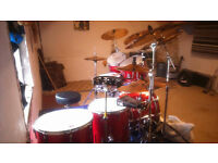 1980s 10 Piece premier elite drumkit