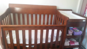 Matching cot and change table Bannockburn Logan Area Preview