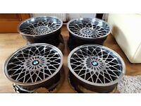 For sale alloys genuine Borbet B 4x100 16/17's J7.5/J10 flat Borbet B