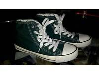 Ladies converse style trainers