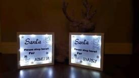 Xmas light boxes