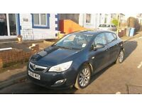 Vauxhall Astra 1.4i Exclusive Ocean Blue 5dr Manuel 60 plate for sale