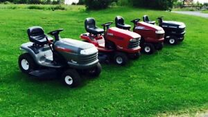 CASH for you broken / unwanted lawn tractor or zero turn mower!