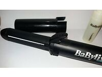 Babyliss PortAbility Pro Ceramic Straightener High Heat 2581U VGUC 3/4 Fuel Cell