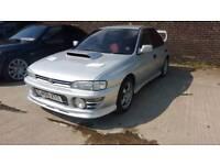 Subaru Impreza wrx turbo version one registered as a GL
