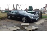 MERCEDES BENZ CL500 302BHP START AND DRIVES ENGINE PERFECT ABC PUMP FAULT 1300 ONO