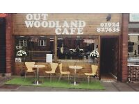 OUT WOODLAND CAFE , for sale due to ill health .....