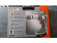 18v Hammer Drill and Case of Accessories