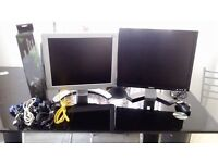 """Philips & Dell LCD (""""17"""") displays Monitors & Computer Case + cabling & goods For sale(Birmingham)"""
