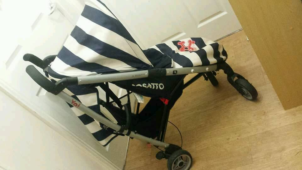 Cosatto ahoy there! Pushchair