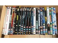 Job lot of just over 20 DVD's - see advert for list of titles