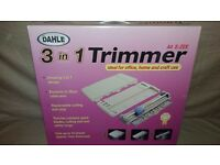 Dahle A4 E-ZEE 3 in 1 Expandable Trimmer Strait, Wavy, Perforator & Pinker Blade