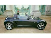 "Smart Roadster Convertible With Exclusive 17"" Lorinser Alloys"