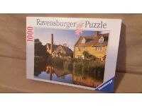 Ravensburger Jigsaw Puzzle 1000 Cotswold Reflections New & Sealed