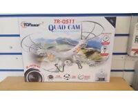 RC QUAD CAM DRONE / COPTER WITH CAMERA TR-Q511 BRAND NEW WITH RECEIPT