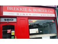 BREAKFAST & LUNCH RESTAURANT FOR SALE. HIGH STREET BIRMINGHAM