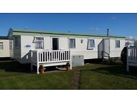 Spacious 3 Bedroom 8 Berth Caravan for Hire Beach Access/Kids Club/Entrtainment/Wifi/Fun Fair/Market