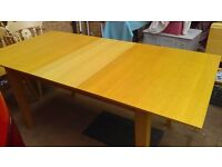 large 6 seater plus extending dining table - free delivery