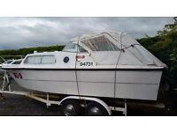 20ft Norman Cruiser boat with 65hp engine