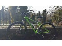 "Cannondale trail 4 mountain bike 29"" wheels"