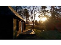 Turbine House Holiday Cottage Rental Argyll Private Estate Dogs Welcome Loch Views Romantic Retreat