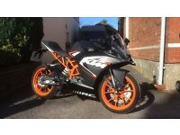 KTM RC125 2016 Brand New 125 Honda Yamaha Aprilia Rieju Cagiva CBR R125 RS4 RS3 Only ridden Once