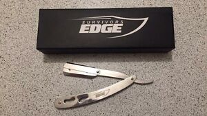 Straight Edged and Double Edged Razors