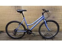 Ladies mountain bike NITROX BLUE Frame 19""