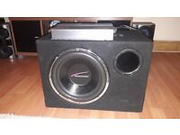 Subwoofer box 'Audiobahn' 12inch,1100W
