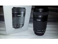 Canon EF-S 55-250mm IS STM Lens EXCELLENT CONDITION comes complete with original packaging
