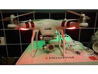 DJi Phantom 3 Drone like new