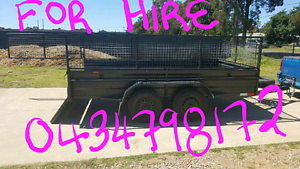$50 4hrs HIRE OR $90 24HRS HIRE REMOVALIST CAGE TRAILERS BOOK NOW Kemps Creek Penrith Area Preview
