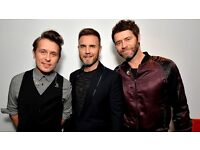 2 Tickets For Take That Friday 26 May Manchester Standings West Genuine Seller