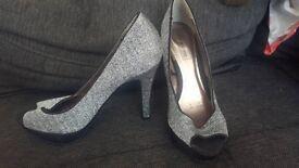 Size 4 red herring heels