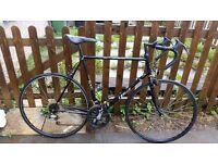raleigh sxc road bike (large) swap 4 weights