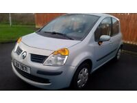 renault AUTOMATIC modus only 78,000 miles from new 2005 private plate excellent inside and out