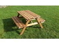 Super Strong Hand Made Soild Heavy Duty Garden Seat Bench Picnic/Pub Bench