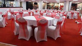 Wedding Venue Decor Chair Covers Starlit Backdrop Centrepieces 4ft LED Love Letters & more