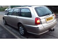 Rover 75 diesel estate . Full service history very useful car.