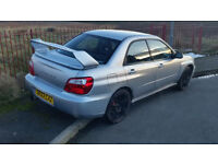 Subaru impreza wrx 2.0 Turbo 2003 £2500 NO OFFERS