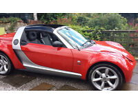 """Finale Exclusive Smart Roadster in """"Spice"""" red!"""