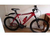 Barracuda mountain bike and accessories