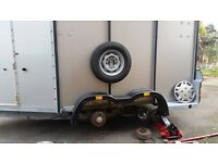 Mobile Trailer Servicing-Repairs Ifor williams,brian james,bateson,equi-trek,etc