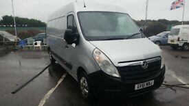 2012 vauxhall movano 2.3ltr diesel 1 company owner main dealer part exchange